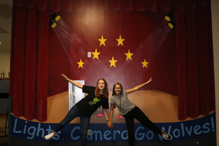 Middle school production wall - 2021-2022