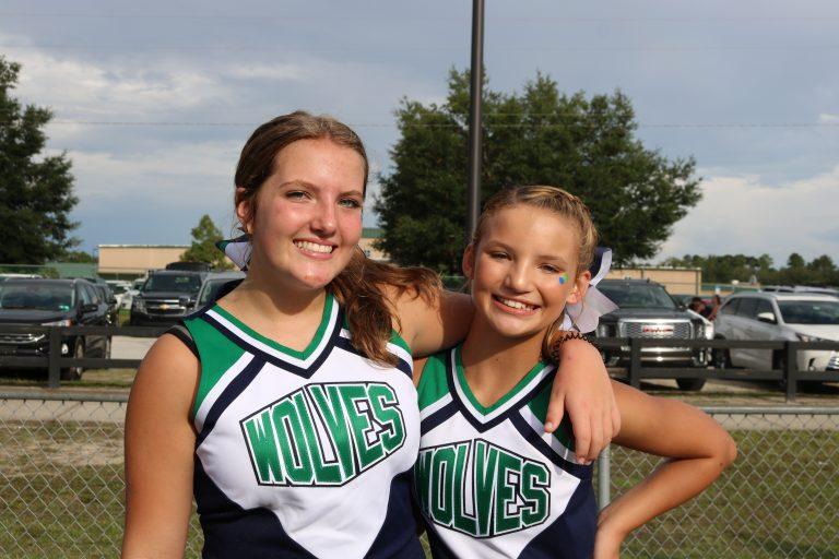 Two cheerleaders - 2021-2022
